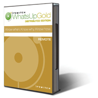 WhatsUp Gold Distributed Edition Network Monitoring Software